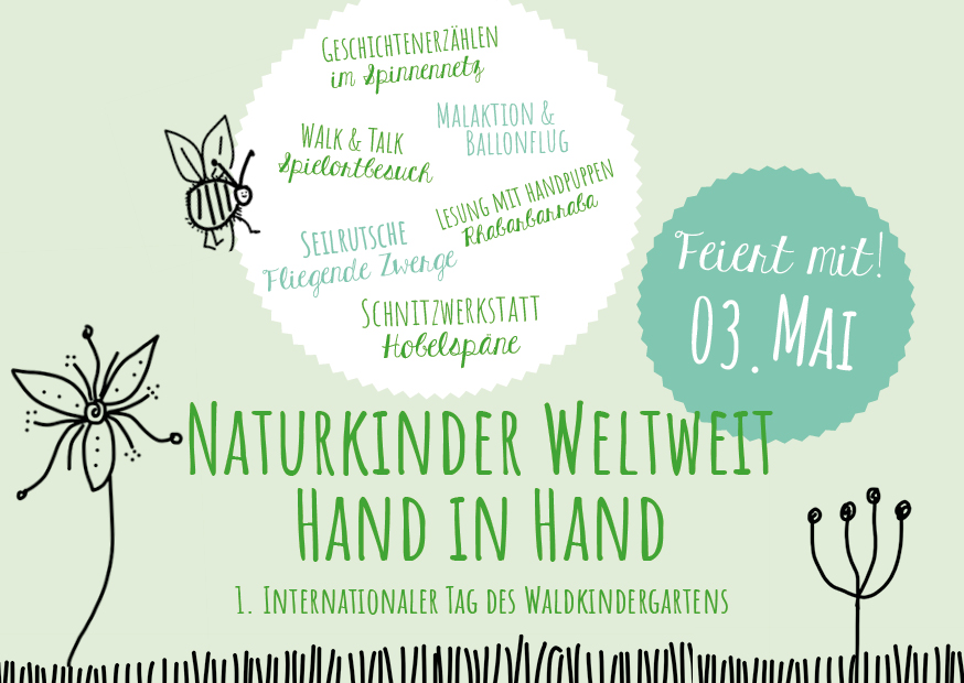 Einladung_Internationaler Tag des Waldkindergartens